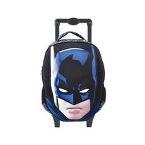 Mochila De Rodinha Batman Grande Ref. 6190 - Xeryus