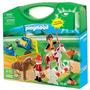 Playmobil Maleta Granja De Ponis Lalo 5893