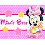 Kit Imprimible Minnie Bebe Disney Candy Bar Tarjetas Y Mas 1