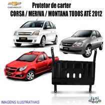 Protetor De Carter Corsa / Montana / Meriva Até 2012