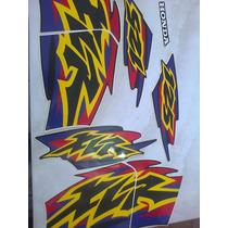 Adesivo Moto Xlr 125 Preto 2000 Completo