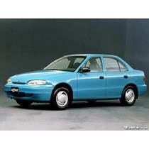Manual De Taller O Mecanico Hyundai Accent 1995 Al 1998