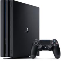 Ps4 Pro Console Playstation 4 Pro 1tb New Ps4+jogo De Brinde