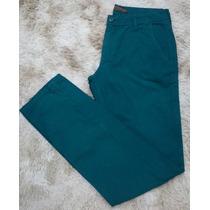 Calça Jeans Masculina Colcci Denim Cor Verde Tamanho 40