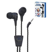 Kit 10 Audifono Intrauricular Fashion Con Cable Mitzu