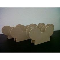 Servilleteros Para Pintar Minnie Mouse Mickey Mouse Madera