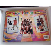 Álbum Figurinhas Chiquititas Ii Completo Raro 1999
