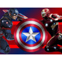 Kit Imprimible Capitan America Vs Iron Man Civil War