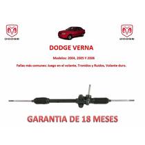 Caja Cremallera Direccion Mecánica Standard Dodge Verna 2005