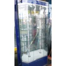 Aparador Exhibidor Vitrinas Mostradores De Cristal