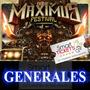 Entradas Maximus Festival Generales 2017 En Tecnopolis