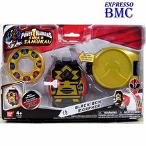 Morfador Black Box Morpher Power Rangers Samurai Bandai
