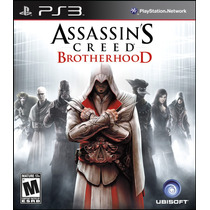 Assassins Creed Brothehood Psn Ps3 Envio Já Ação Aventura