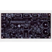 Placa Para Montagem Amplificador Tda2030+pre+protetor