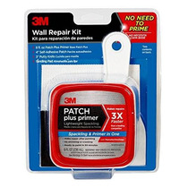 Kit De 3m Patch Plus Cartilla Con Onza 8-fluid Auto-adhesivo