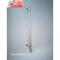 Exhibidor De Pared Metalico Para Lentes Paquete De 10 Guias