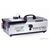 Maquina De Fumaça Dmx 1500w - 220v Com Controle Sem Fio
