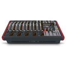 Mesa De Som Mixer Amplificada Nvk1200p Novik Frete Grátis