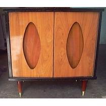 Mueble Pequeño De Madera Tipo Buró Años 70´s