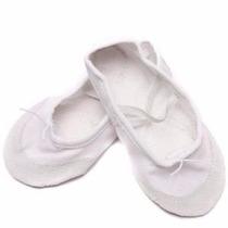 Zapatillas Ballet O Jazz Blancas