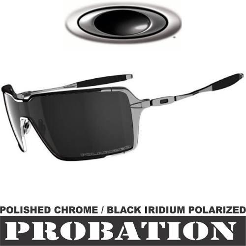 c867f7cfd7189 Óculos Oakley Probation Prata Polarizado Original Cod04373 - R  164 ...