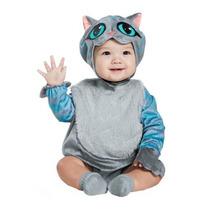 Disfraz Gato Rison Bebe Niño Niña Alicia Gato Cheshire