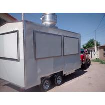 Remolque Food Truck Cocina, Equipo Interior Acero Inoxidable