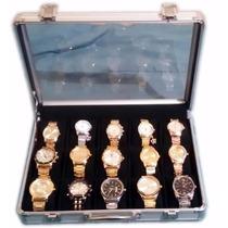 Kit Com 15 Relógios Masculino Baratos Atacado Revenda