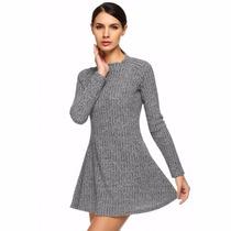Vestido Abrigo Casual Mod 2594 Envio Gratis Dhl