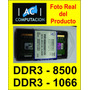 Memoria Kingston Sodimm Ddr3 2gb Pc3-8500 O 1066 - B.cerrado