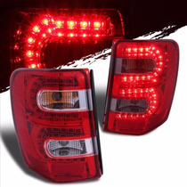 Jeep Grand Cherokee 1999 - 2004 Calaveras Led Envio Gratis