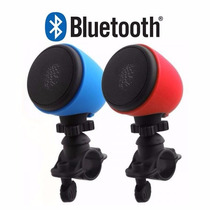 Caixa Som Bluetooth Bike Bicicleta Moto Usb Iphone Lg Galaxy