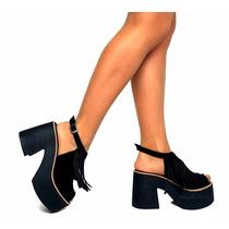 Zapatos Sandalias Mujer Primavera Verano 2016/17 Gamuzadas