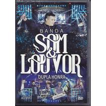 Cd + Dvd Som E Louvor - Dupla Honra (original)