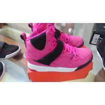 Zapatillas Jordan Para Niña Talla 33 Y 34, Casi Nueva
