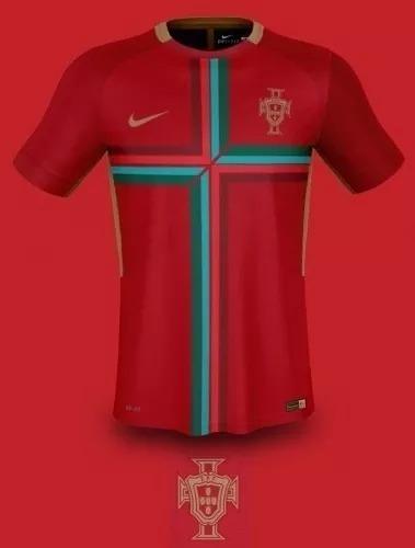 Camisa Nike Seleção Portugal 2017 Original Jogador Copa 2018 - R  120 e7ea7d1cb2f33