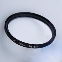 Filtro Protetor Lente Uv 52mm Canon Nikon Sony Só Hoje Se