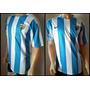 Camiseta Oficial Malaga Cf Titular Celeste/blanca 2015-2016