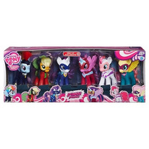 My Little Pony Set Exclusivo Paquete 6 Power Ponies Pack