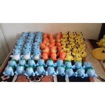 Pokemons De Peluche Pikachu Bulbasaur Charmander Blastoise