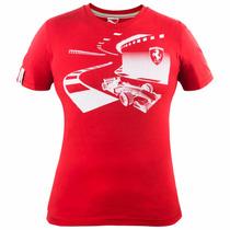 Playera Scuderia Ferrari Sf Graphic Hombre 12 Puma 568440