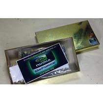 Placa De Video Agp 64mb Nvidia Xfx Geforce Gf Mx4000 Ddr Tv