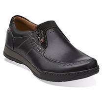 Mens Clarks Active Air Vent Slip On Shoes Fenway Step
