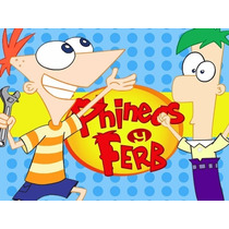 Kit Imprimible Phineas Y Ferb Promo 2x1