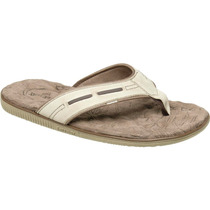 Chinelo Em Couro Freeway Easy-8 2888 Wax Natural