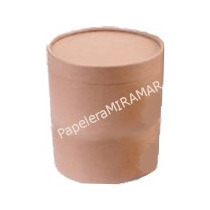 Pote Carton Caja Cuñete Dulce De Leche 10kg 22x22cm (c/u)