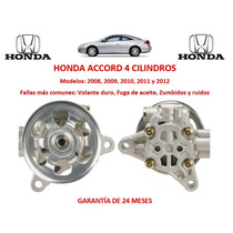 Bomba Direccion Hidraulica P/caja Honda Accord 4cil 2009