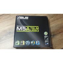 Placa Mãe Asus M5a 78l-m Usb3