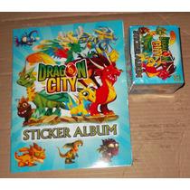 Dragon City Album Y 50 Sobres De Estampas