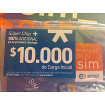 Chip De Datos,bam,banda Ancha De Entel Con 10.000